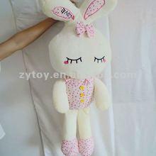 Promotional Soft stuffed animal bunny toy plush rabbit for kid