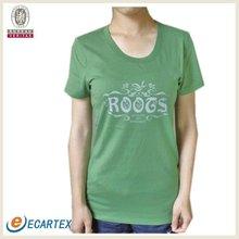 2012 New Fashion Ladies Tshirt Organic Cotton