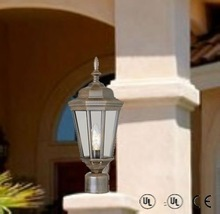 best quality outdoor post lights of aluminum