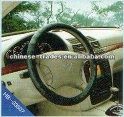 Heated sale PVC Steering wheel cover