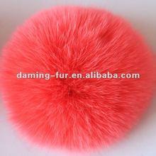 2012 Top Popular Red Fox Fur Ball