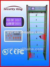 Walk Through Metal Detector Gate 8zone body scanner XST-F08