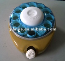 magic coin tissue dispenser for wet the coin tissue