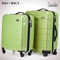3 unidades conjunto caliente de la venta ligero polo royal PC equipaje de la carretilla