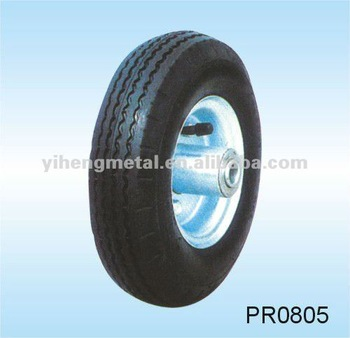 Small Wheels for Trolley Carts with Metal Rim All Size2.50-4,3.00-4,3.50-4,3.00-8,3.50-8--PAH's
