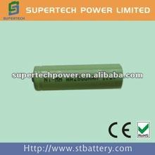 AA 1.2v nimh battery with 2800mah