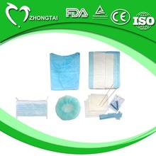 2012 new product clean dental bags and kits for surgeons in medical and surgical use