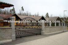 WH420A attractive top sale handmade garden sliding gate
