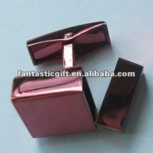 USB memory sticks light red mini USB cufflinks