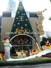 2012 Christmas tree,Christmas scene,Christmas decoration combination