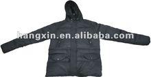 Winter duck down jacket for men 2012