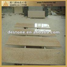 2012 Hot sale yellow granite countertop