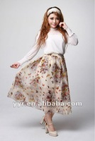 Fashion ladies casual dresses pictures,pleated butterfly dresses