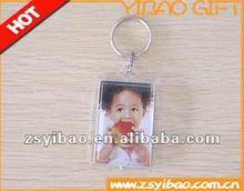 2012 Promotional Blank Acrylic keychain