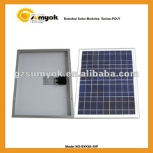 cheap price for high quality 45w poly solar cell panel SYK45-18P