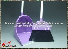 2013 plastic broom stick and dustpan set