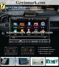universal car DVD support IPOD, Bluetooth, GPS, Radio, ATV, DVB-T, ATSC, STERING WHEEL CONTROL, REAR-VIEW CAMERA