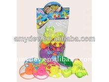 hot sale plastic wind up spinning top toy for kids