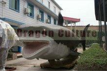 2012 new Aquarium shark model animation