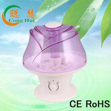 purple/pink rose ultrasonic diffuser T-218