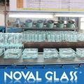 A cor do bloco de vidro, clear/ matizado/ colorido/ modelado/ bloco de vidro decorativo