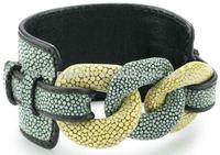 Wristband Stingray leather jewelry