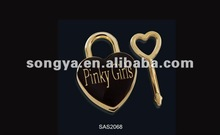 2012 newest heart shape lock for bag&luggage