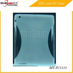Slimming TPU case for iPad 2/The new iPad