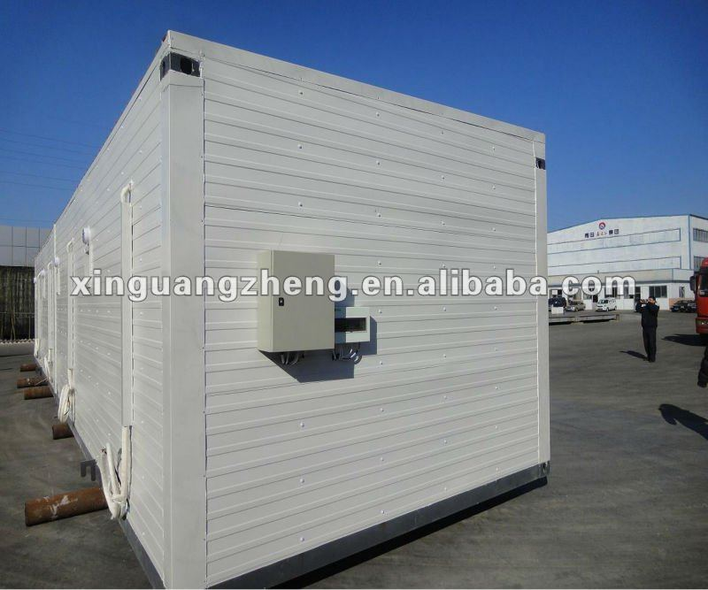 Prefab welding container house view container house xgz product details from qingdao - Shipping container end welding ...