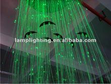 Plastic LED optical fiber ceiling lamp