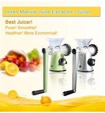 2012 Manual Great Power Press Juicer Juice Extractor
