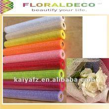 Nature Fiber Mesh Roll For Flower Packing