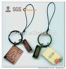 Promotional Metal Keychain, key tags
