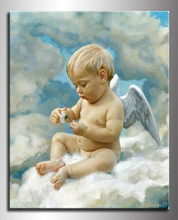 2012 Best price classical nude kids painting