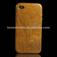 best price wooden case for iphone4/4s
