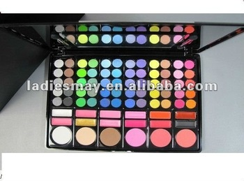78 colors Eye Shadow +Lip color+blusher (Branded makeup)