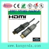 High speed 360 degree hdmi cable 1.4v