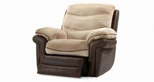 Leisure European style ,fabric recliner sofa YR2059