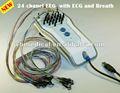آلة غسيل الكلى للبيع مع الرقمية 24-- قناة معدات eeg