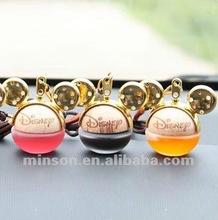 2012 Lovely Hanging Cartoon Car Air Freshener 5ml Car Decorative Perfume