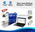 laser portatile macchina per incidere metalli con 10w 20w fibra laser
