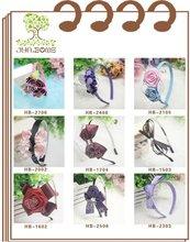 Fashion design hair accessory elastic baby headband