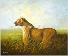 Queen of the Animal Kingdom oil painting