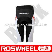 quick dry padded spandex bike shorts