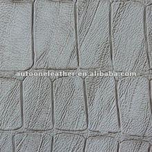 crocodile skin PU sofa leather material A1208