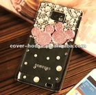 3D Bling Mikey crystal case for Samsung Galaxy S2 i9100