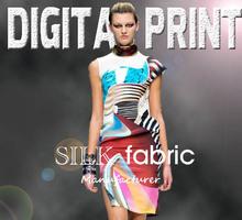 Georgette Pure Silk Blouse Print Process JC-X0024
