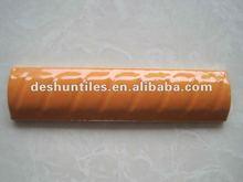 25X100MM 25X200MM Orange Ceramic Bon Bon Tile for Indonesia