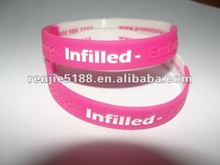 Newly 2012 fashional,good price and personalized silicone bracelet