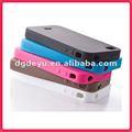 de silicona caso de teléfono móvil para el iphone 4